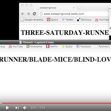 Three-Runner-Saturday  Three-Runner-Saturday