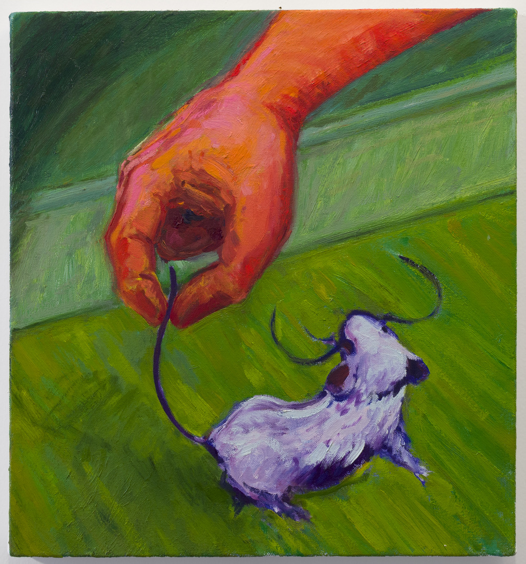Painting Hand and Mouse