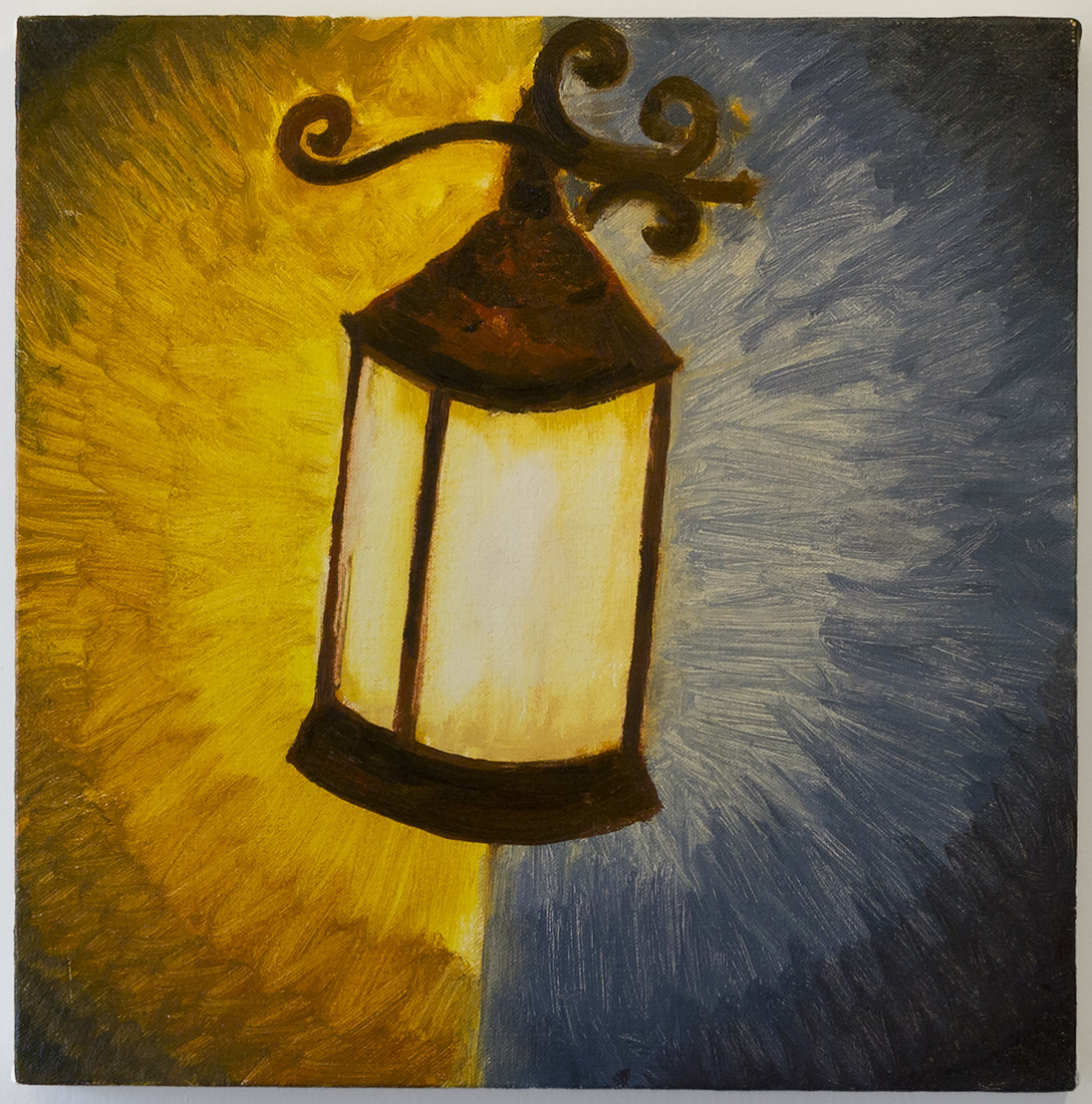 Painting Lamp Light