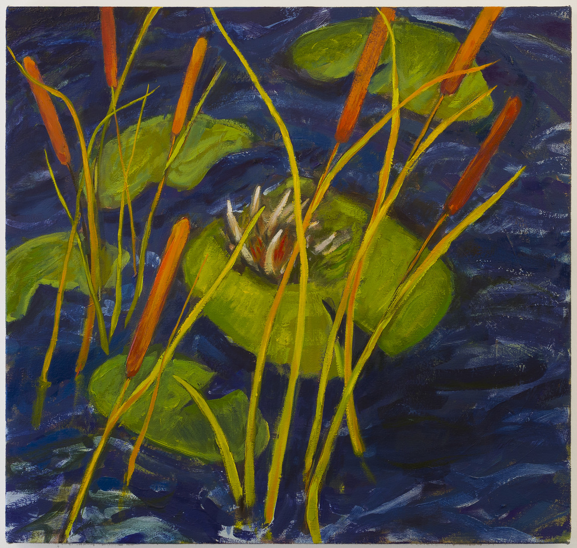 Painting Cattails