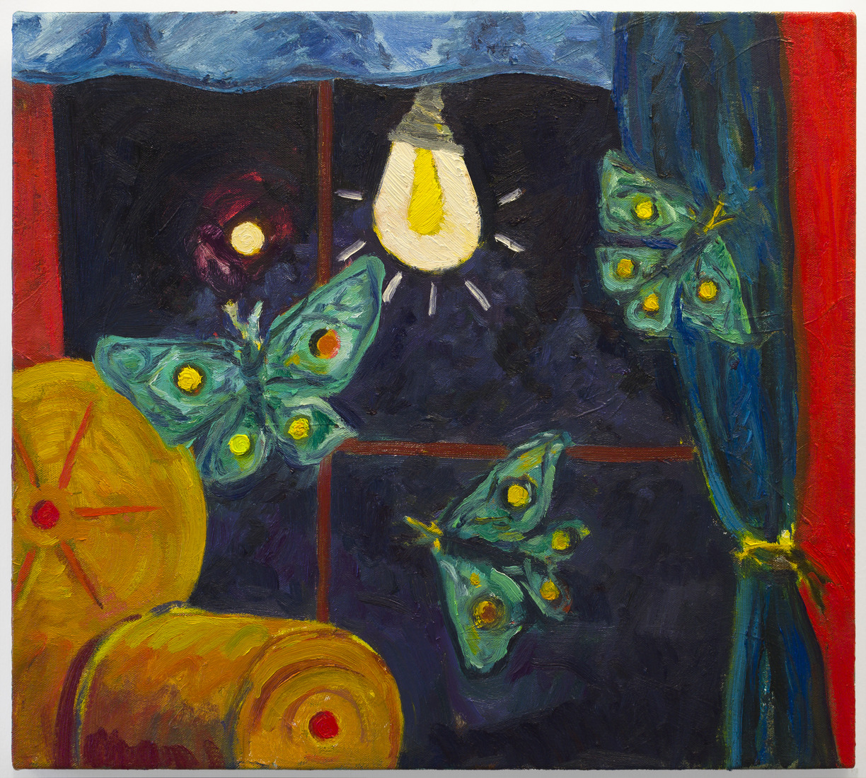 Painting Trapped Moths