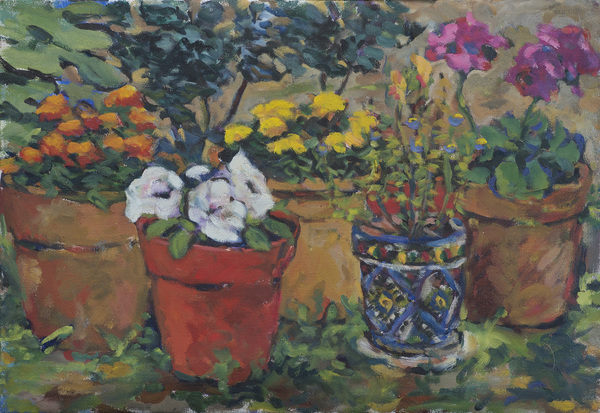 Paintings Pots