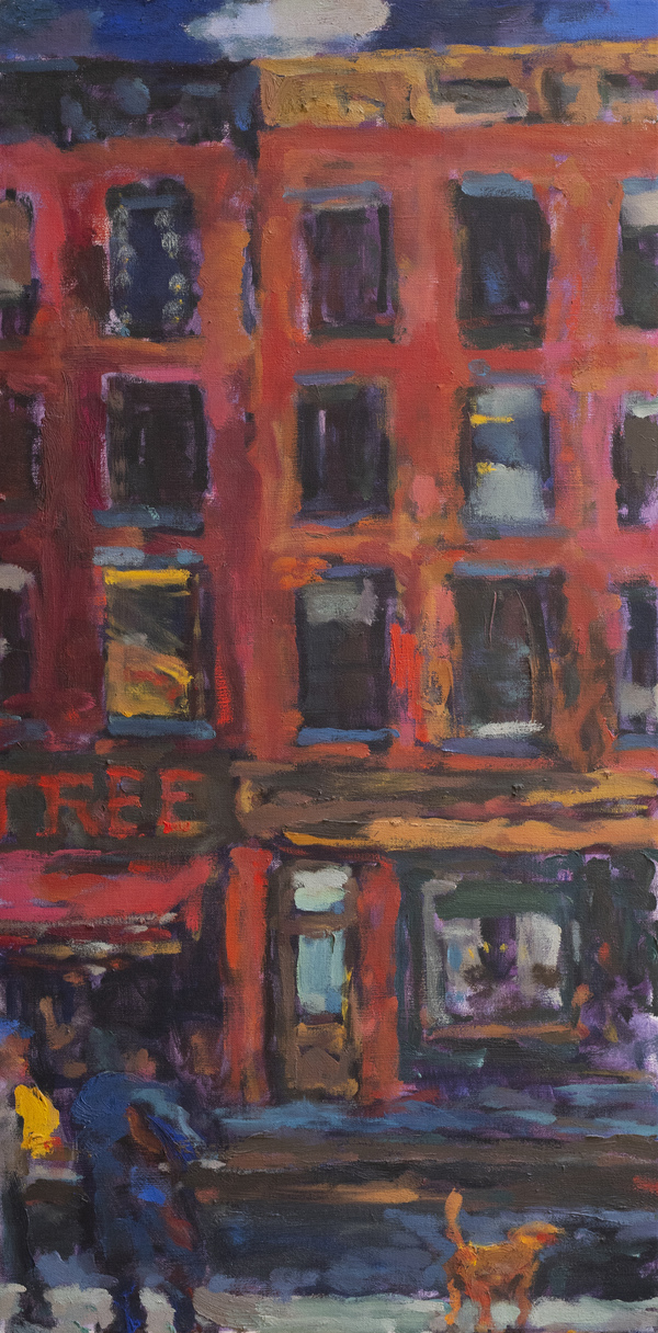 Paintings Fourth Avenue Nocturne