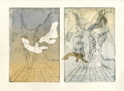 JENNA LONDON Prints and Monotypes