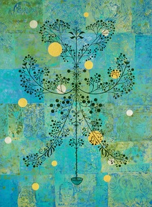Jill Slaymaker Paintings (selected) acrylic and India ink on wood