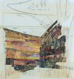 Joanna Kao Structures and Spaces Collage & Painting