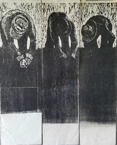 Joanna Kao Earlier Work Woodcut