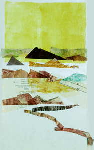 Joanna Kao Shapes and Spaces Collage & Painting