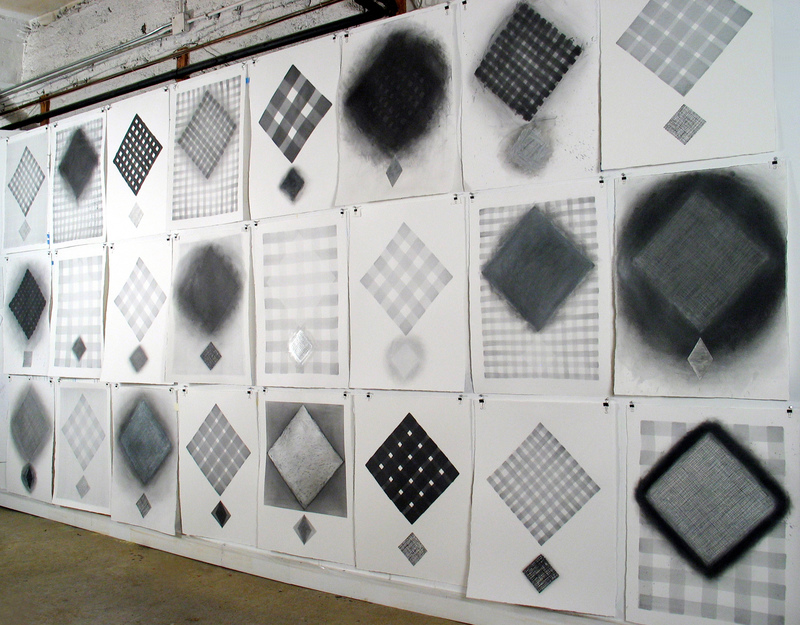 Joanne Mattera On paper: Diamond Lattice 2012