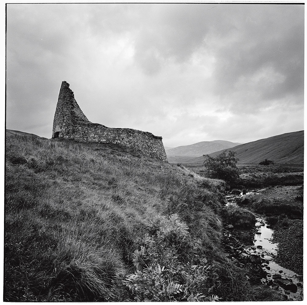 Scottish Highlands, 2016           Broch