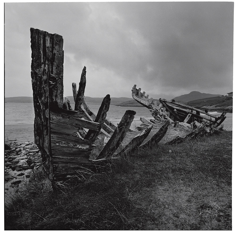 Scottish Highlands, 2016           Boat Bones, Melness