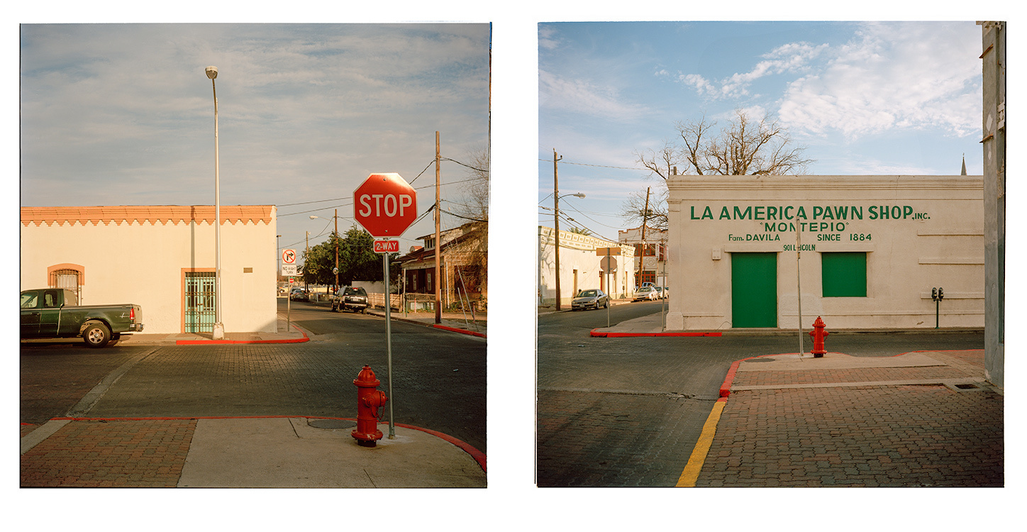 In Texas, 2016 The Corner of Lincoln and San Bernardo, Laredo