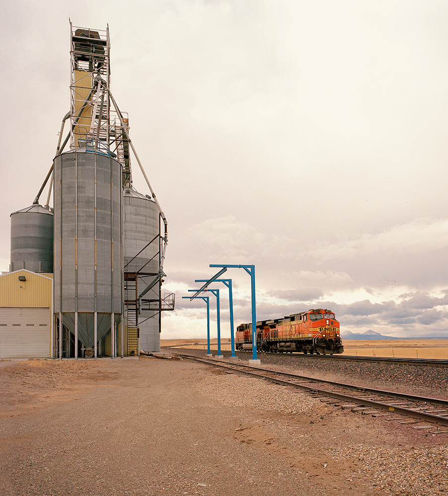 Mechanical Landscape On the Hi-Line, Montana