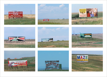Photographs by John A Kane Driving to Rapid City