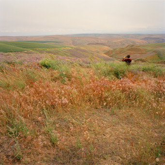 Photographs by John A Kane Julie in the Landscape