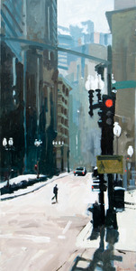 John Bonner Urban Landscapes Oil on panel