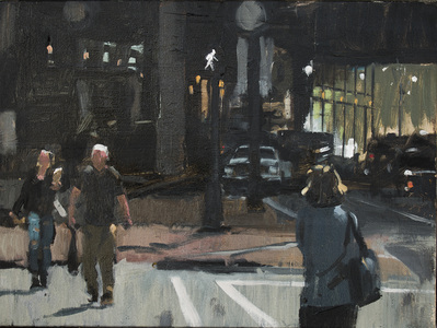URBAN LANDSCAPES Oil on canvas