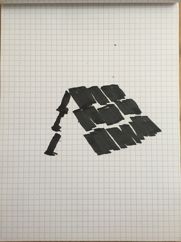 Juan R. Garcia Home Ink, graph paper