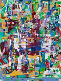 Karen L Kirshner Complex Abstracts 40 x 30 inches
