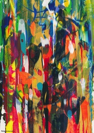Karen L Kirshner Complex Abstracts 30 x 24 inches