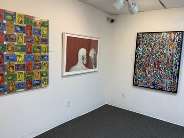 "Karen L Kirshner GALLERY VIEWS b.j. spoke gallery, ""Artists' Choice,"" Huntington, NY, 2018"