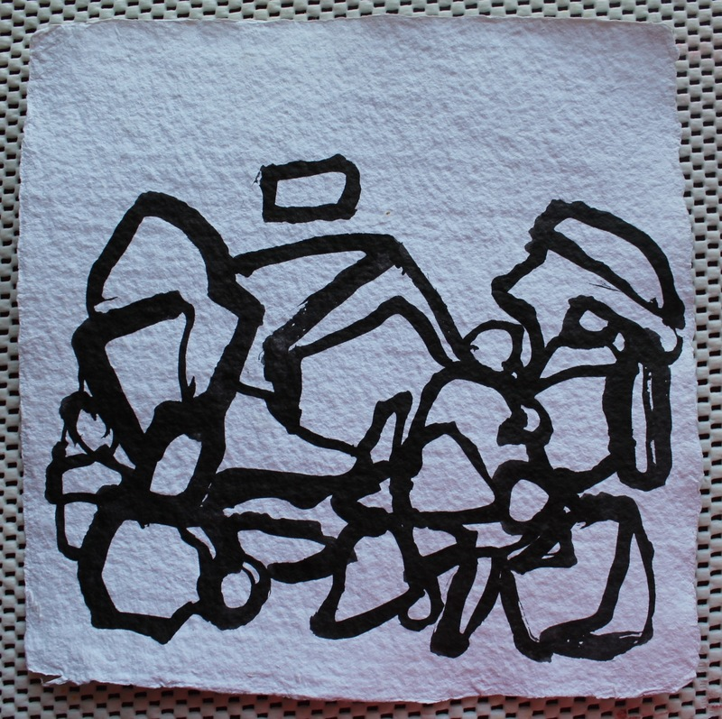 Drawings India ink on paper