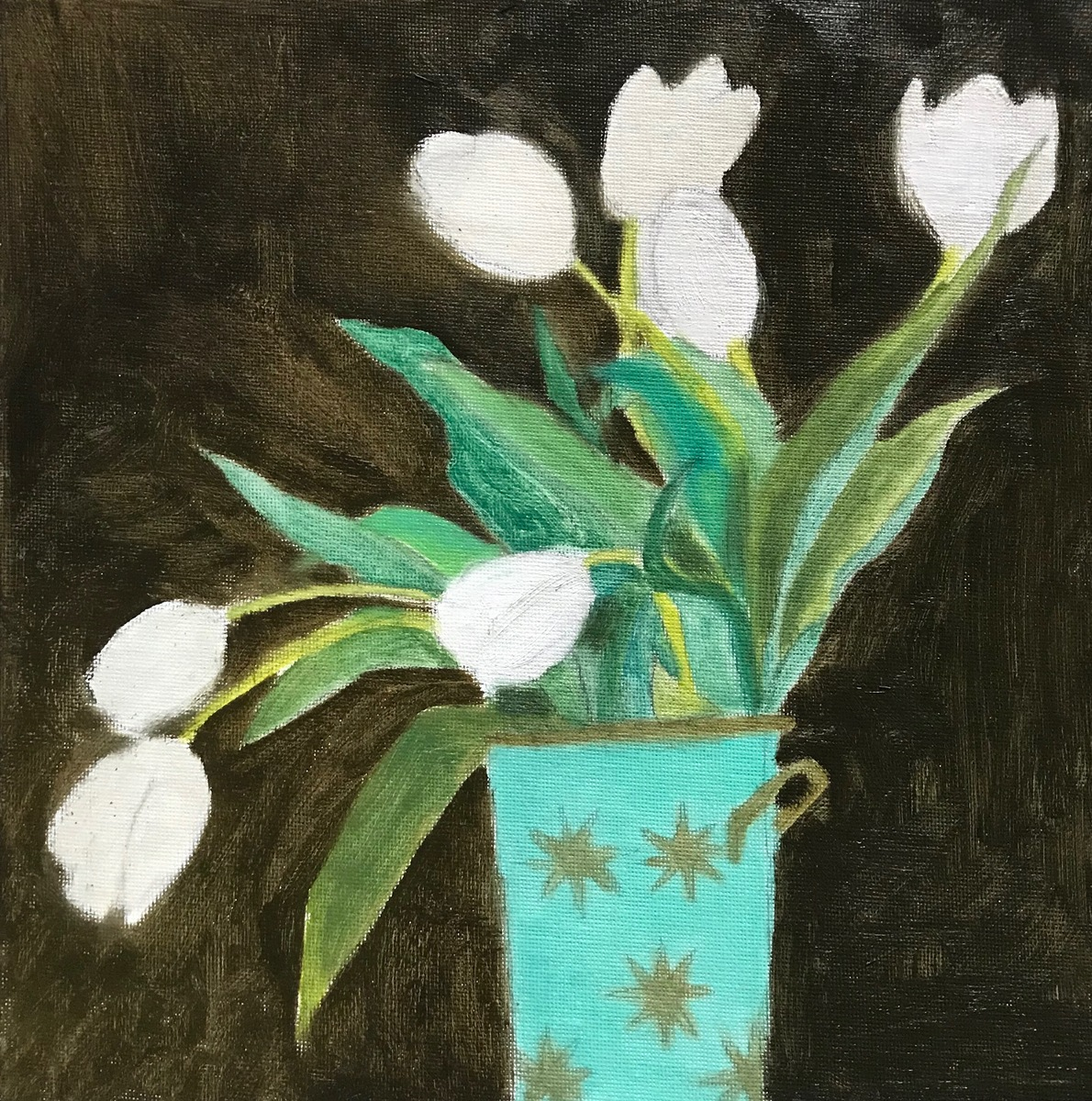 Painting 2019-2020 White Tulips
