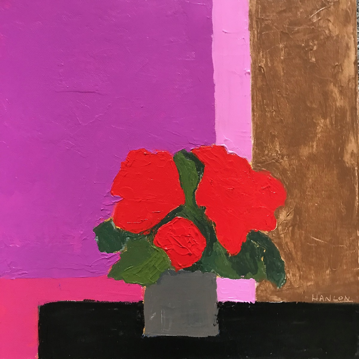 Painting 2019-2020 Bright Flowers