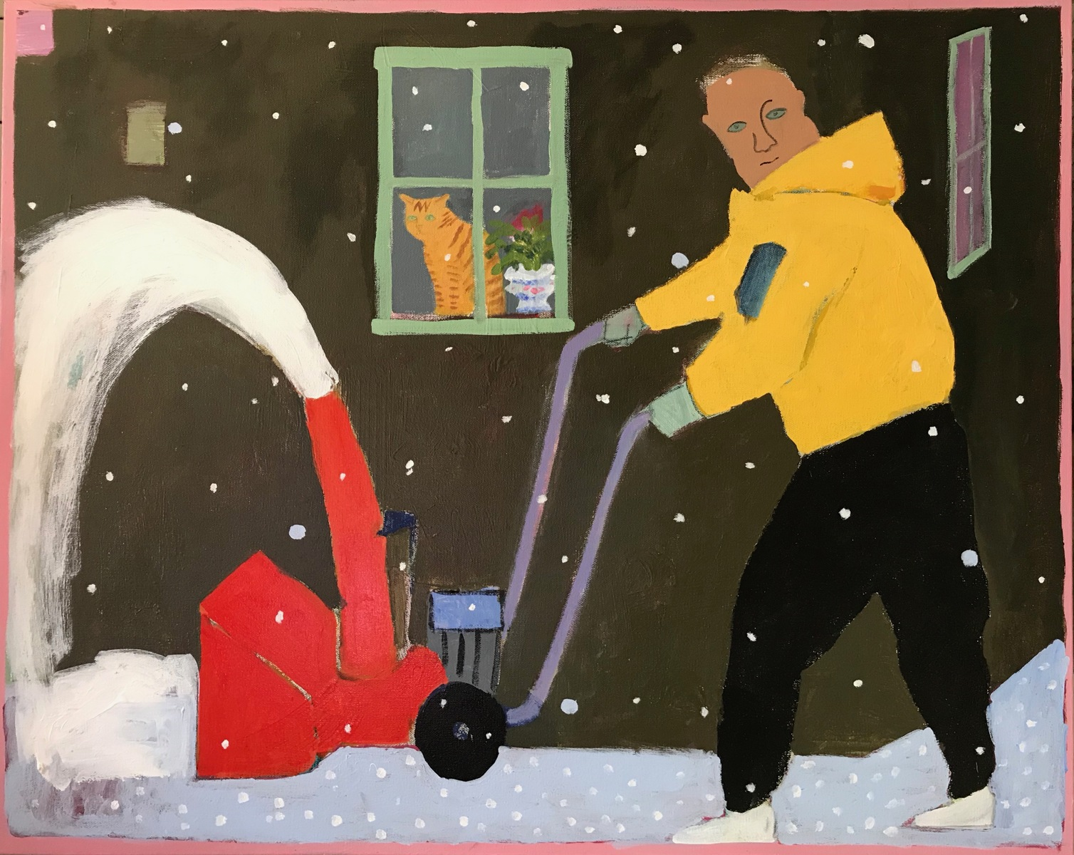 Painting 2019-2020 The Neighbor