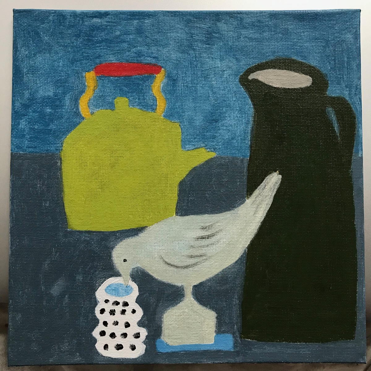 Painting 2019-2020 Still Life with Bird