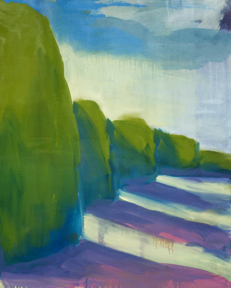 Katharine Dufault Landscape 2015-2017 oil on canvas