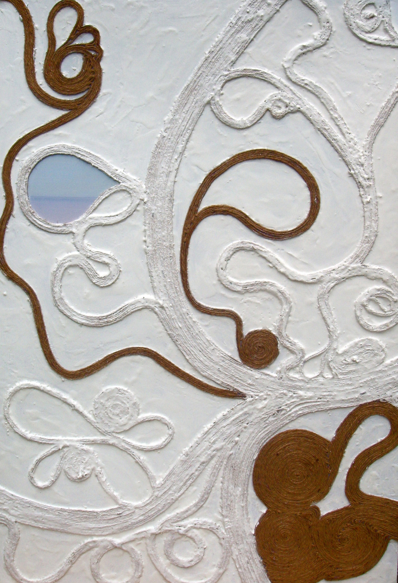Encaustic  Spiral Variations