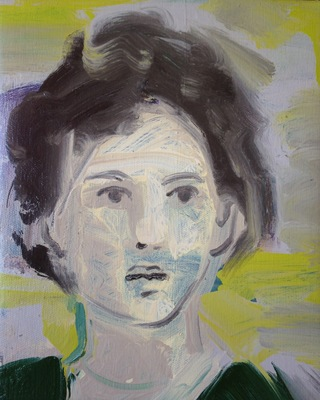 Katharine Dufault Figure oil on canvas