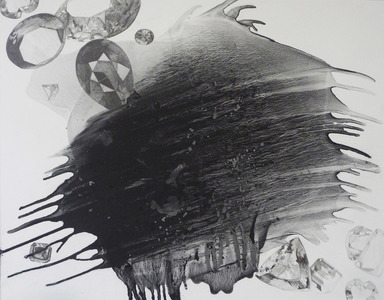 Katherine Patterson 2014 graphite powder on paper