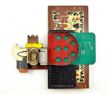 Keith Krueger Image Gallery 1 Mixed Media Assemblage