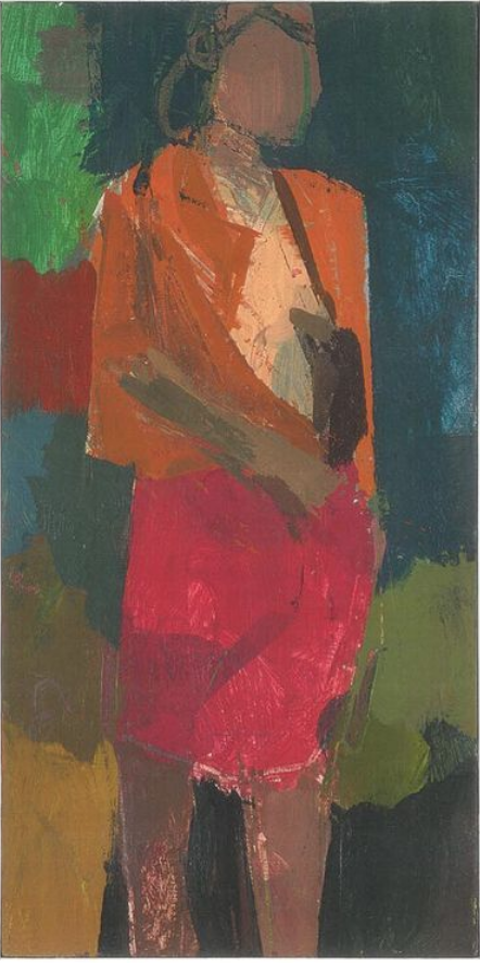 Dressing Room Paintings  2007-2012 Standing Figure 3