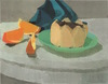Desserts 2000 oil on wood panel