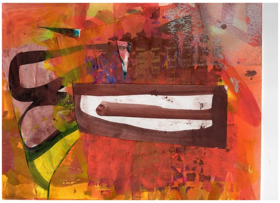 Lawrence J. Philp New Image Gallery/2020 Work on paper Tempera paint, collage and acrylic ink on paper.