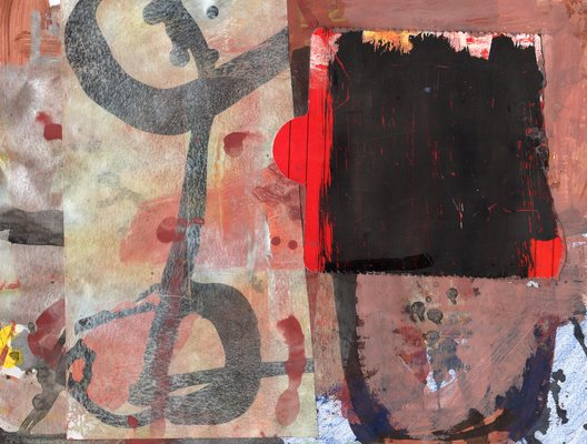 Lawrence J. Philp New Image Gallery/2020 Work on paper Tempera, gouache, acrylic ink,  collage on paper.