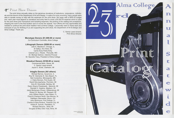 C. Sandy Lopez-Isnardi: Graphic Artist Catalog Design
