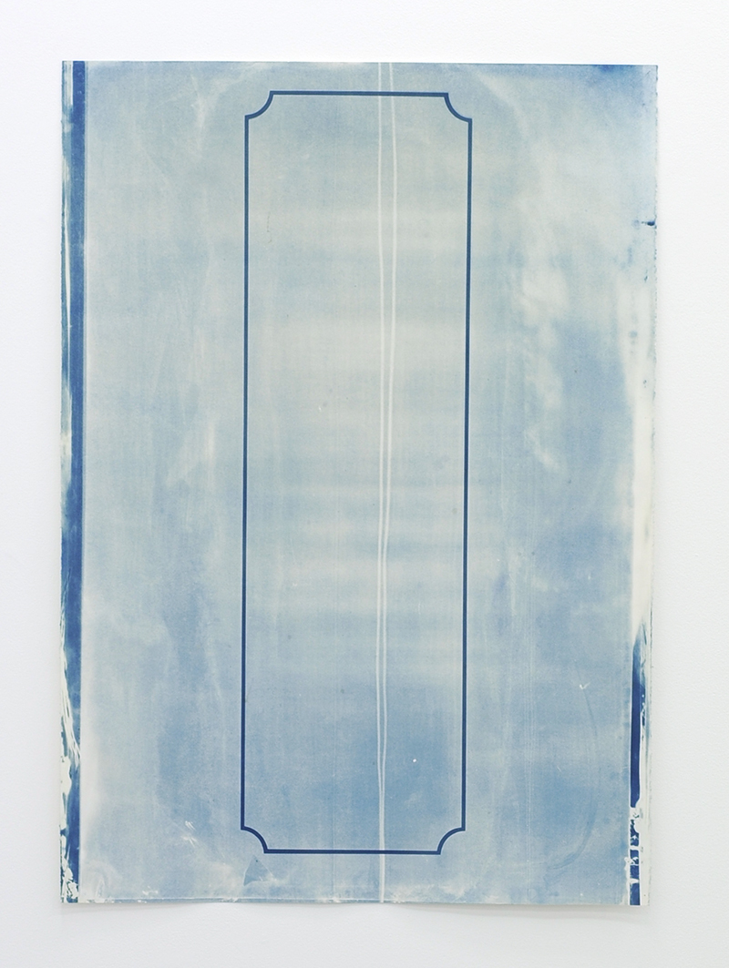 Cyanotypes, 2016 - ongoing Luke Parker