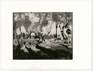 maia cruz palileo Works on Paper Etching, Aquatint, Edition of 3