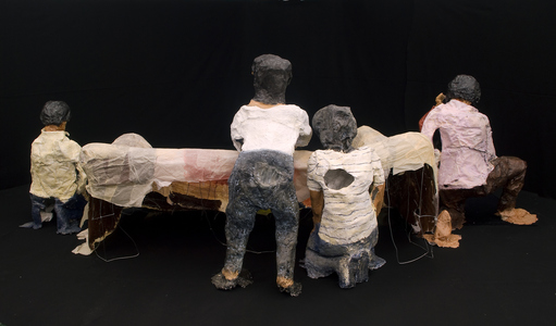 maia cruz palileo Sculpture & Installation Plaster, beeswax, acrylic, paper, and wire