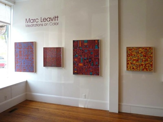 MARC LEAVITT Installations/Studio Images
