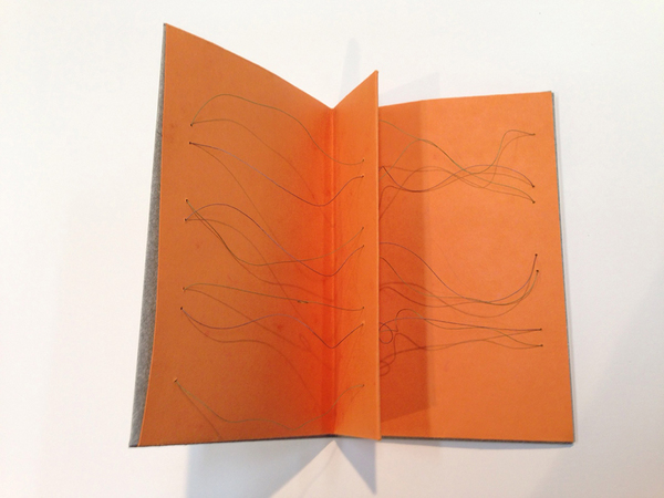 Works on Paper & Artist Books Thread and paper