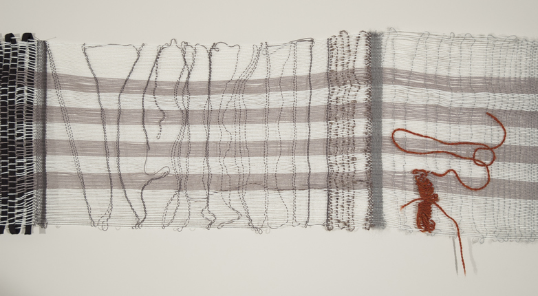 Weavings & Woven Structures Cotton, wool, and monofilament