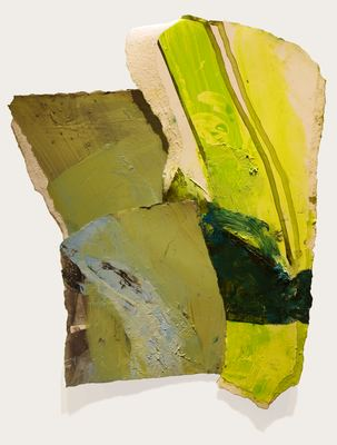 Margot Spindelman New work oil and gouache on gessoed paper