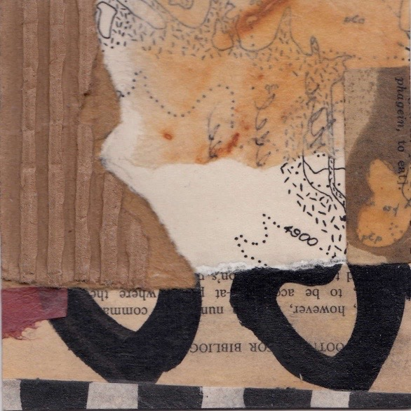Small Mixed Collage 'However'