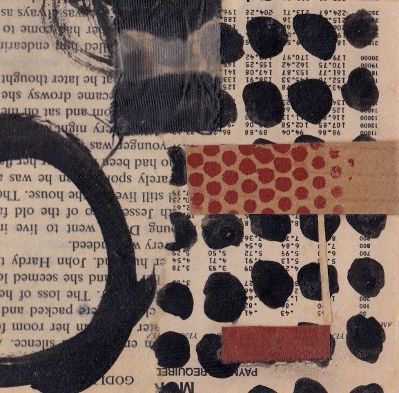 Small Mixed Collage 'Silence'