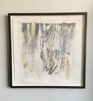 MARY GILLIS Works on Paper acrylic and graphite on paper